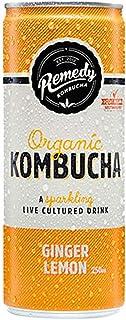 Remedy Organic Kombucha Ginger & Lemon, 250ml