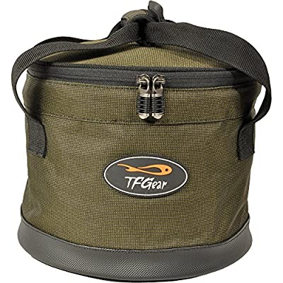 Carp Fishing Collapsible Bait Bucket TFG Compacy Groundbait Bowl / Bucket EX DEMO by TFG