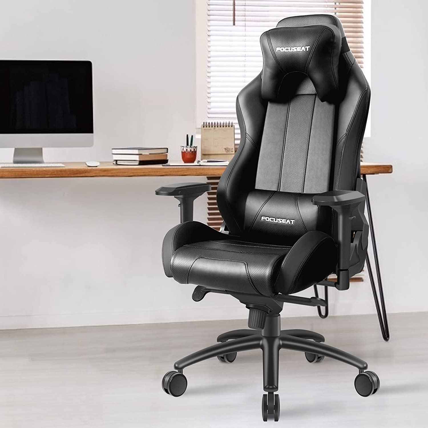 Focuseat Gaming Chair Ergonomic Great interest Office and with L Headrest overseas