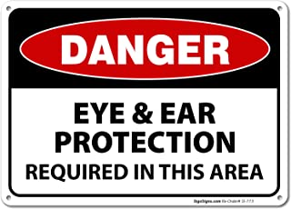 Best eye and ear protection sign Reviews