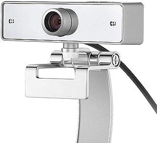 1080P USB Desktop Laptop Camera 12 Megapixel HD Webcam with Microphone, 360-Degree Swivel Computer Web Camera, Driverless Plug and Play Video Calling Camera (1080P)