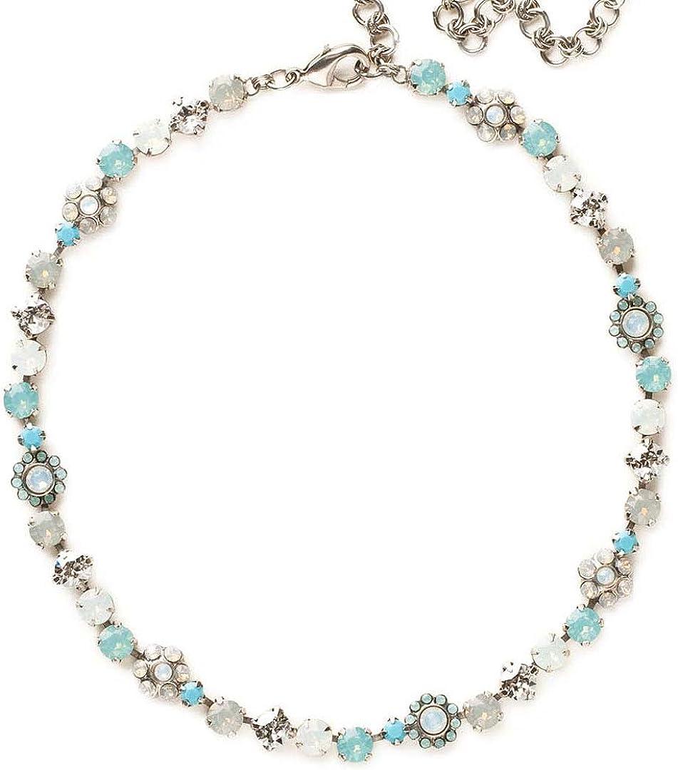 Sorrelli Classic Floral Tennis Necklace