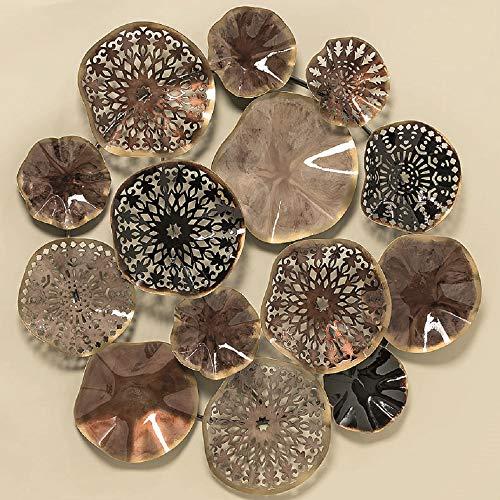 Home Collection Hogar Decoraciones Accesorios Interior Objetos Decorativos Circular para Colgar en la Pared H 74 cm