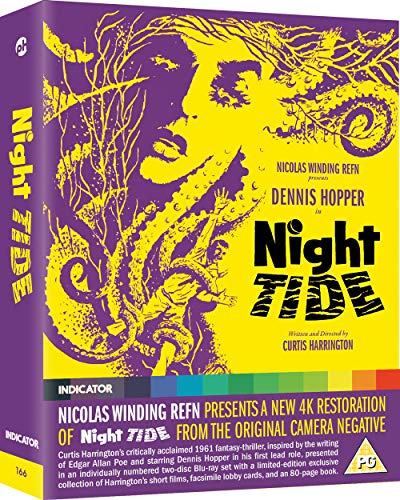Night Tide (Limited Edition) [Blu-ray] [2019] [Region Free]