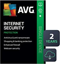 AVG Internet Security 2020 | Antivirus Protection Software | 1 PC, 2 Years [Download] - coolthings.us