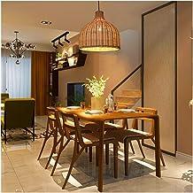 Minimalist Modern Minimalist Pendant Light New Rattan Chandelier Rural Creative Ceiling Lighting Restaurant Bar Living Roo...