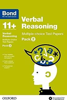 Bond 11+: Verbal Reasoning: Multiple-choice Test Papers: Pack 2