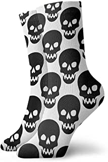 Dydan Tne, Niños Niñas Locos Divertidos Calcetines de Calaveras Calcetines Lindos de Vestir de Novedad