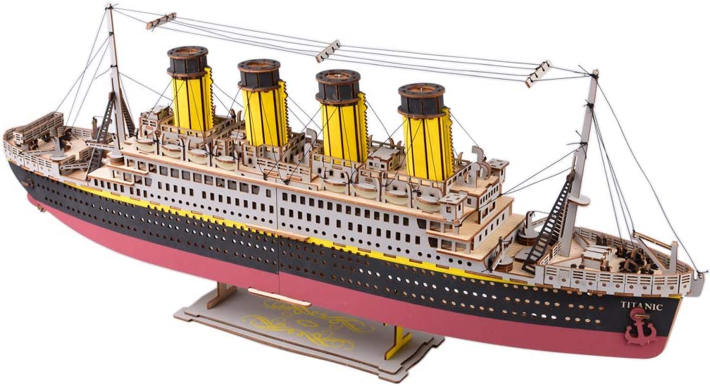 Ranking TOP13 Large Size Titanic Model 3D Wooden Ship Max 69% OFF English Cruise Puzzles V