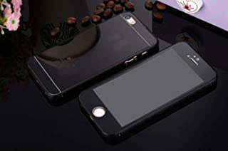 9d0d9fc04da Générique Carcasa iPhone 4 4S Espejo Completo Negro Bumper Aluminio Cristal  Delantero/Trasero Efecto Vidrio