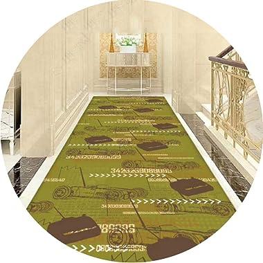 JIAJUAN Hallway Runner Rug Modern Non Slip Narrow Area Rugs Floor Mat for Bedroom Kitchen Passage Entrance Doormat (Color : A