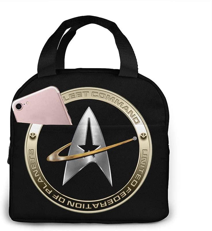 Walter Margaret Hittings Neva Star Trek 50 Lunch Bag Reusable Lunch Box Lunch Cooler Tote