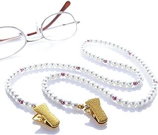 Brillenband  kristall Öse für Brillenkette Beutel 6Stück Brillenschlaufe
