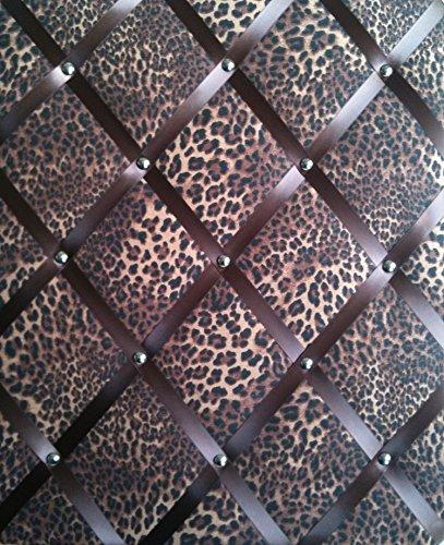 Tableaux d'affichage, Memo Planches, ruban grand format 40 x 48 cm, léopard, imprimé animal cm Décoration murale