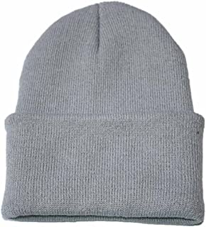 iYBUIA Unisex Slouchy Knitting Beanie Hip Hop Cap Warm Winter Ski Hat
