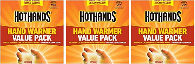 HotHands Hand Warmers - Long Lasting Safe Natural Odorless Air Activated Warmers 72 Pair