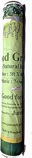 AAYU Jute Burlap Planter Liner (48 feet)   Food Grade Burlap   Biodegradable Garden Fabric   Weed Barrier   Heavy 7oz   91 cm or 36 inch Width
