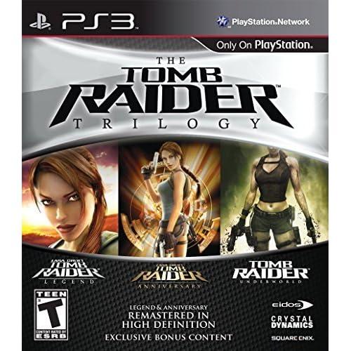 Amazon com: Tomb Raider Trilogy: Playstation 3: Square Enix