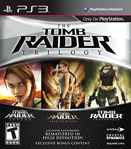 Eidos Tomb Raider Trilogy - Juego (PlayStation 3, Acción / Aventura, M (Maduro))