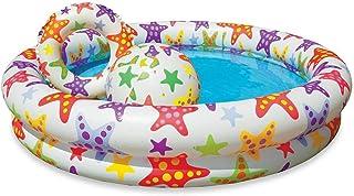 Intex 59460NP - Piscina, flotador y pelota 51 cm 122 x 25 cm, 150 litros