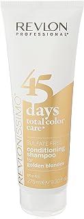 Revlon Revlonissimo 2 in 1 Shampoo & Balsamo Cura Colore Biondo dorato, 275 ml