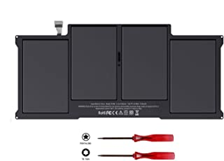 Mac Air A1496 battery Compatible with MacBook Air 13 Laptop - A1369 Late 2010 Mid 2011 - A1466 Mid 2012 Mid 2013 Early 2014,A1377 A1405 020-7379-A 020-8143-A 661-5731 661-6055 12 Month Warranty Flyten