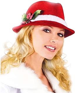 Slick Santa Christmas Fedora