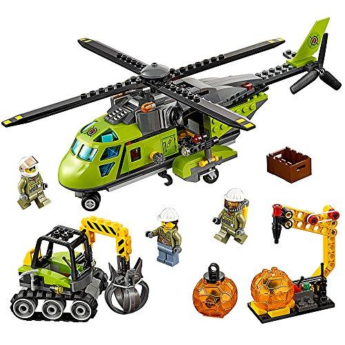 lego city vulcano explorer Lego City 60123 Elicottero Rifornimento New 06 2016