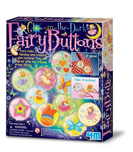4M - 5604612 - Kit de Loisirs Créatifs - Fairy/Bouton Phosphorescent