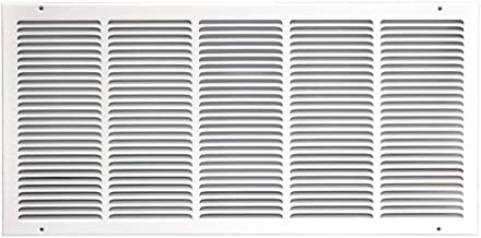 Speedi-Grille SG-3014 RAG 30-Inch by 14-Inch White Return Air Vent Grille with Fixed Blades