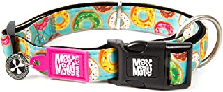 Max & Molly Donuts Smart Id Collar  Comfortable   Odor Free Neoprene  Smart Id Tag   Lost Pet Protection Program   Extraor...