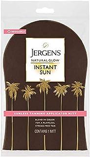 Jergens Natural Glow Body Applicator Mitt, Flawless, Streak-free Tanning Blender Glove, Reusable Tanning Mitt Protects Hands