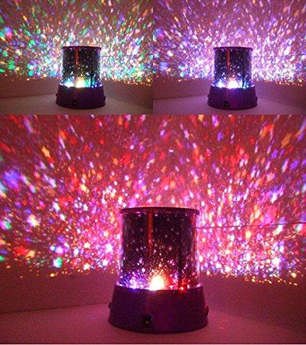 LED Sternenhimmel Romantik Himmel Planetarium Projektor Lampe Nachttischlampe Romantische Lampe...