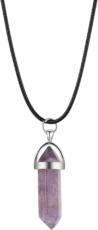 It is very popular Gemstone Necklace Chakra Stones Pendant Ranking TOP9 N Crystal Healing Energy