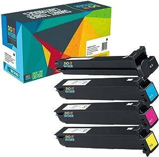 Do it Wiser Compatible Toner Cartridge Replacement for Konica Minolta Bizhub C452 C552 C652 Toner | TN613 TN613K TN613C TN613M TN613Y (4-Pack)
