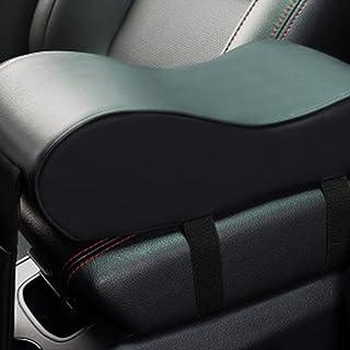 Mousse Voiture Accoudoir Housse De Protection Coussin pour Honda CRV 2007-09 Black /& Black Viviance 2Pcs en Microfibre Cuir