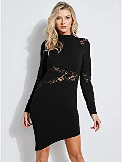 GUESS Women's Long Sleeve Tahara Dress