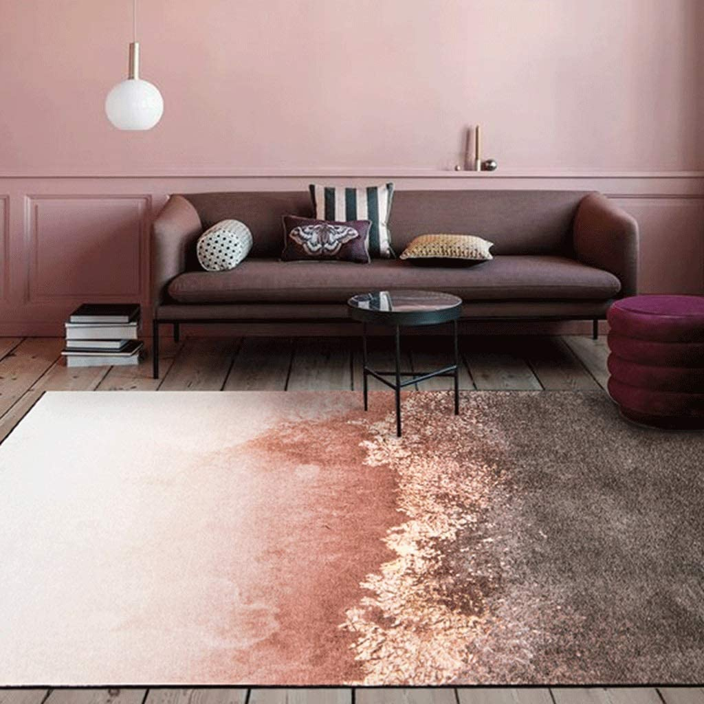 XXW Stylish Light Luxury Living Room Coffee Table Mat Nordic Simple Modern Bedroom Bed Linen Size : 160230cm