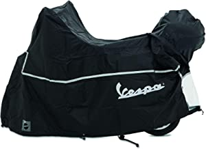 OEM Original Piaggio Vespa Scooter Cover with Top Case Waterproof Outdoor - size XL for Vespa Gt Gts Super Gtv Gt60 125cc 250cc 300cc All Weather Scooter Garage