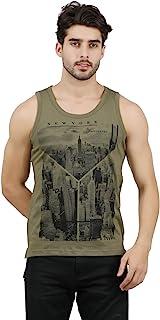JUGULAR Men's Printed Vest New York City