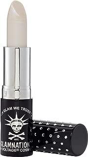 Manic Panic Cobweb White Lethal Lipstick - Sparkly Shade Of Indigo-tinted White Lipstick - Peacock Shimmers Lipsticks Have A Shiny, Opalescent Finish - Long Lasting Moisturizing White Lip Stick