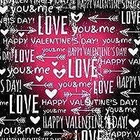 赤いハートの写真背景ビニール写真の背景スタジオの小道具10921とGooEoo 10x10ftバレンタインのグリーティングカード