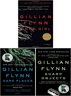 Gillian Flynn 3 Books Series Collection Set (Gone Girl, Sharp Objects & Dark Places)