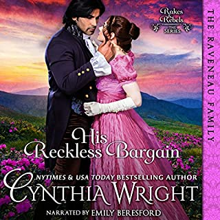 His Reckless Bargain: (The Raveneau Novels, Book 3) audiobook cover art