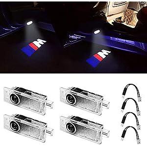 Door Light Logo for BMW 3 5 7 Series Car Projector Lights E60 E90 F02 F10 F30