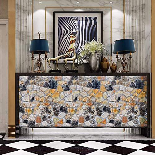 Home Pvc wasserdichte Wandaufkleber 3D Wallpaper Brick Antique Effect Selbstklebende Wandaufkleber Home Decoration Wallpaper Wohnzimmer Bar Wandaufkleber