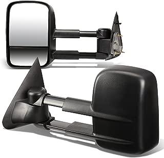 DNA motoring TWM-002-T111-BK Pair Powered Towing Side Mirrors