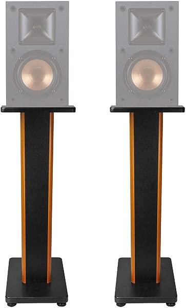 ROCKVILLE Pair 28 2 Tone Speaker Stands For Klipsch R 15M Bookshelf Speakers