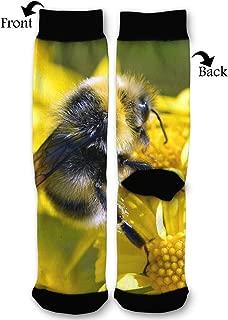 EKUIOP Socks Hornet Chrysanthemum Funny Fashion Novelty Advanced Moisture Wicking Sock for Man Women