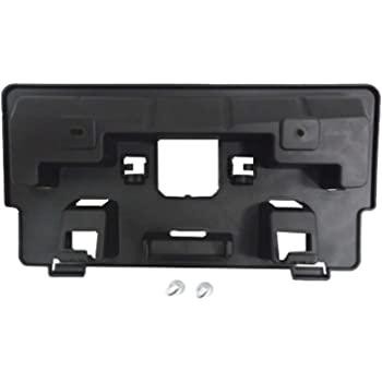 2016-2019 Infiniti Qx60 Front License Plate Bracket; Includes Mounting Hardware; Made Of Pp Plastic Partslink IN1068105